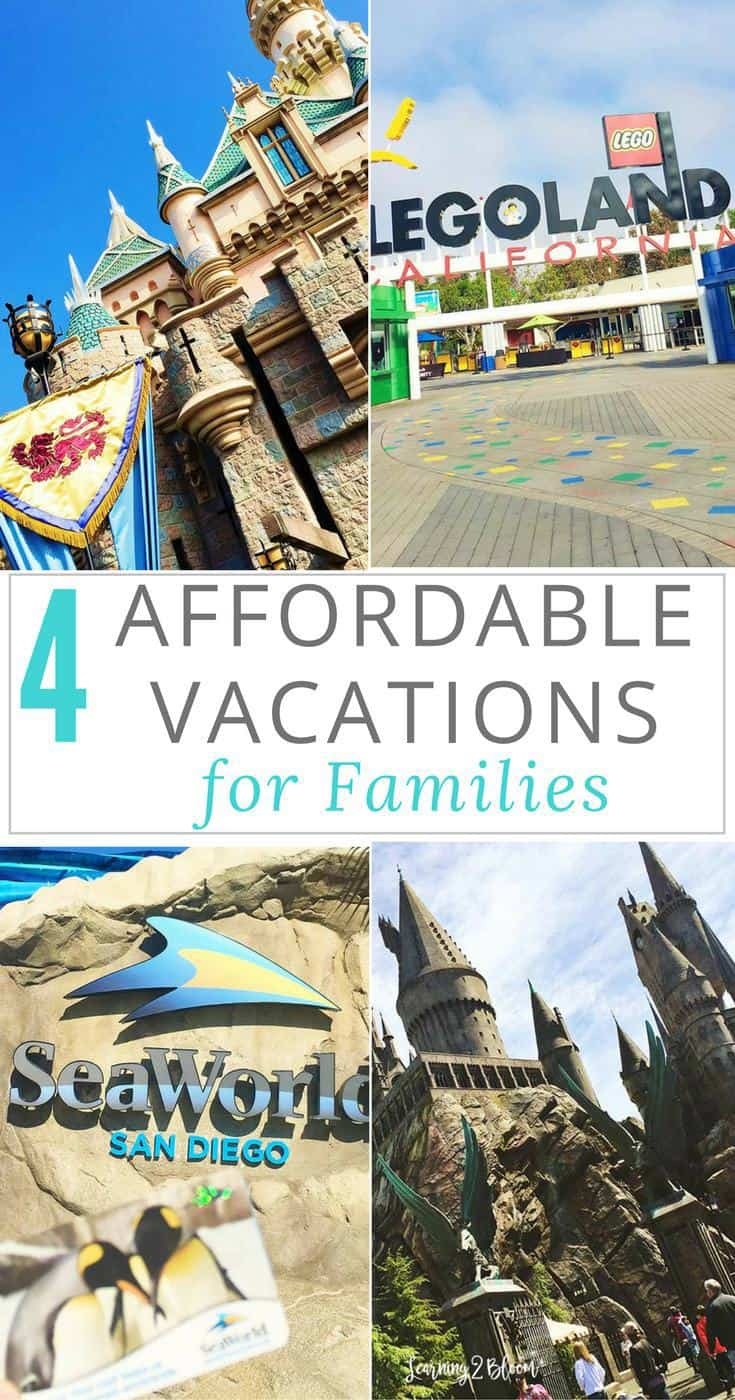 4 affordable family vacations learning2bloom for Cheap fun vacation spots
