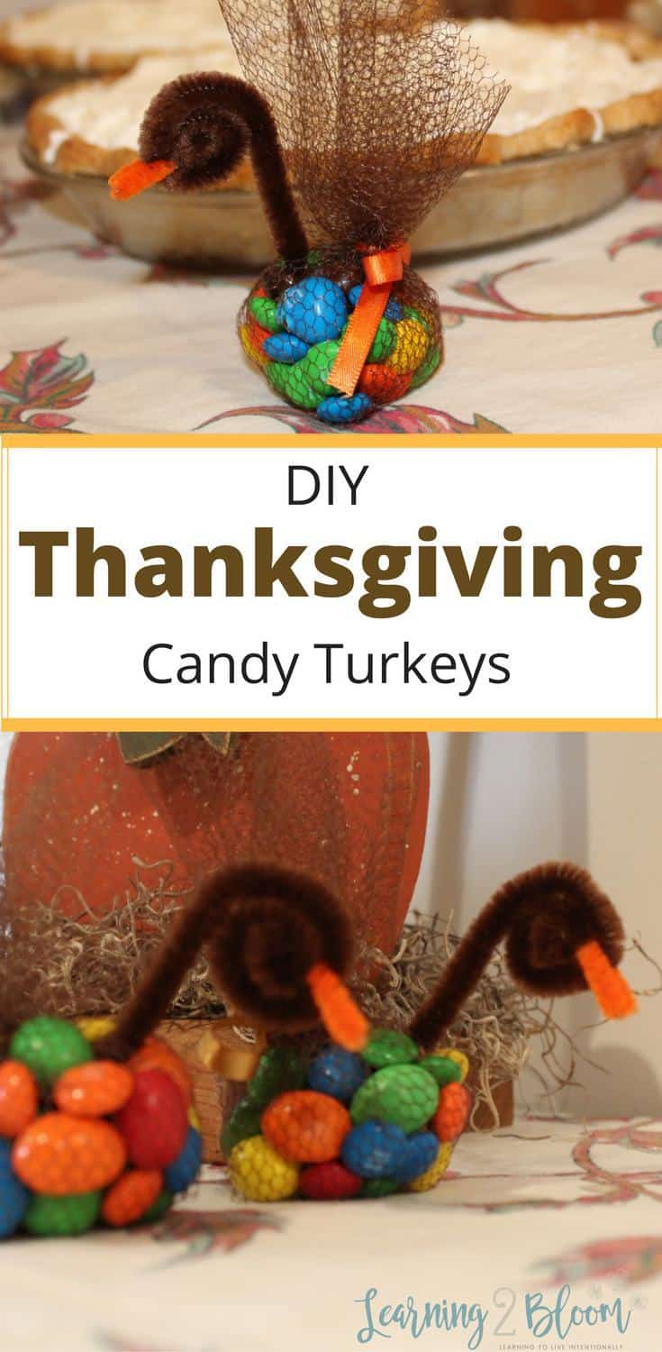 diy thanksgiving candy turkey table toppers and treats will be a hit with the kids - Pictures Of Turkeys For Kids 2