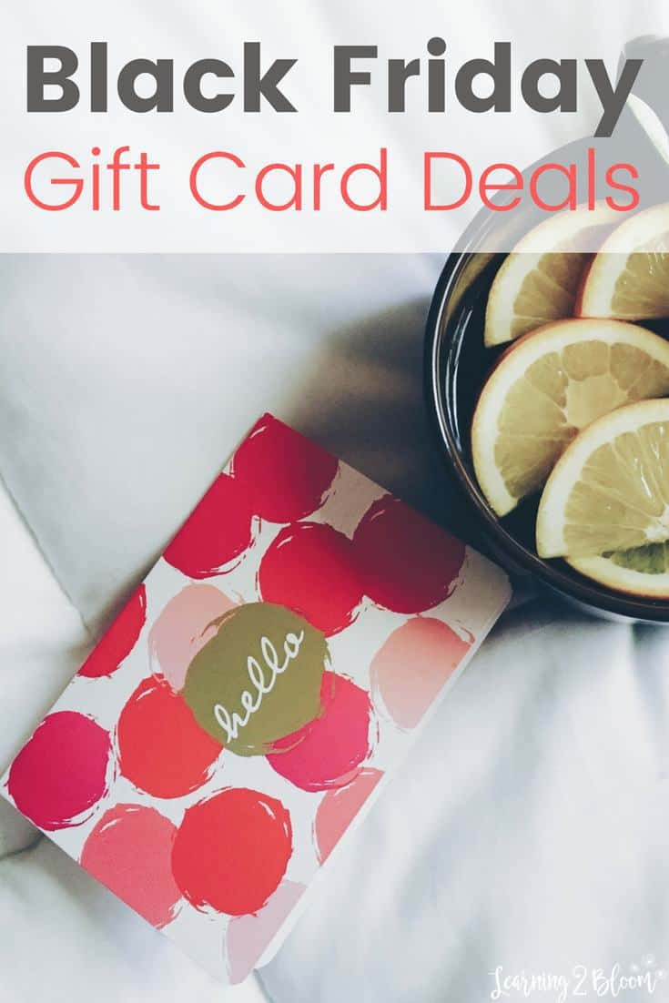 Black Friday Gift Card Deals Learning2bloom