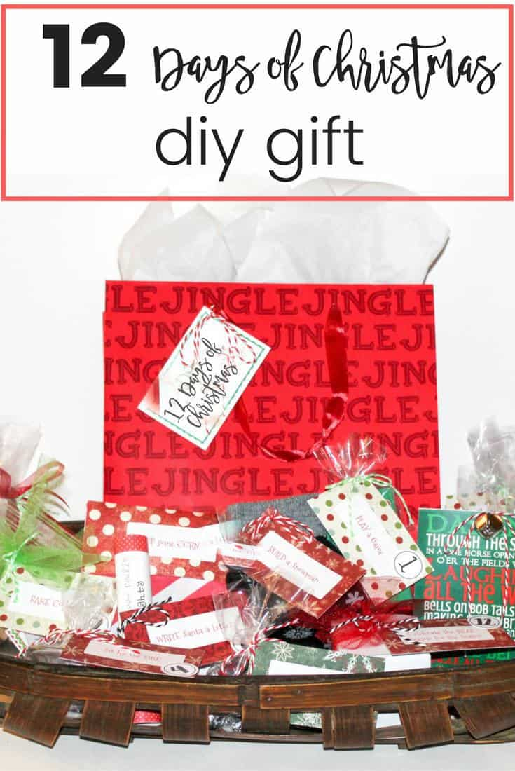 12 Days of Christmas DIY Gift - Learning2Bloom