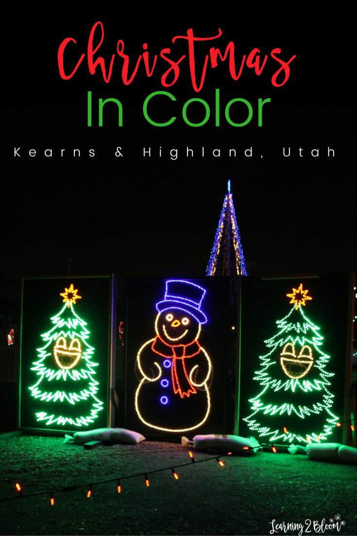 christmas in color located in kearns and highland utah a fun holiday activity for
