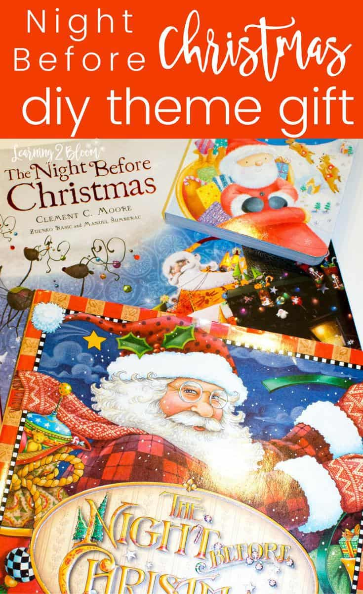twas the night before christmas diy theme gift perfect for someone who loves creative holiday