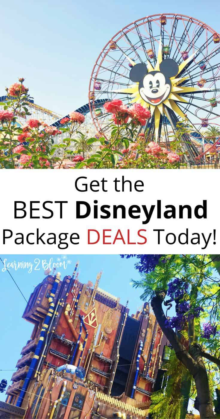 Save Time and Money with a Disneyland® Park Package Deal. Get immediate savings with your Expedia deal. Pairing your flight and lodging purchases is a stress-free way to save. That can only mean more money for your Disneyland® Park getaway! $ in potential savings is available to those smart travelers who purchase deals.