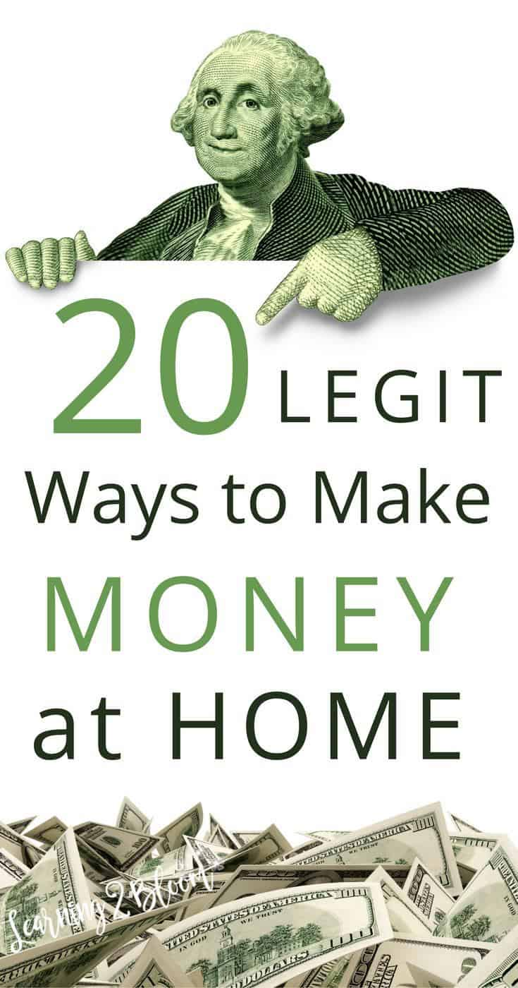 20 Legit Ways to Make Money from Home - Learning2Bloom