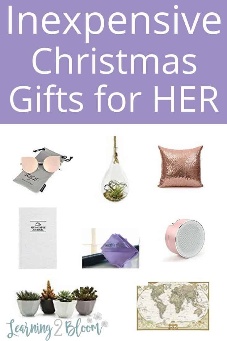 Inexpensive Christmas Gift Ideas for Women - Learning2Bloom