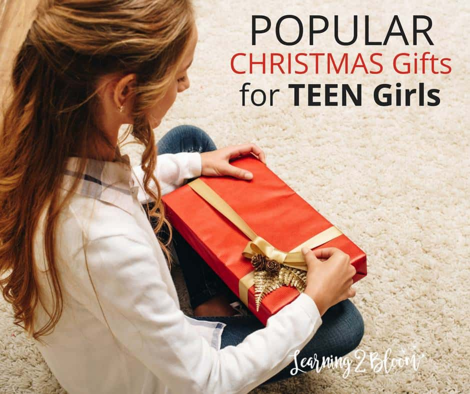check out some of the most popular and practical christmas gifts for teen girls i