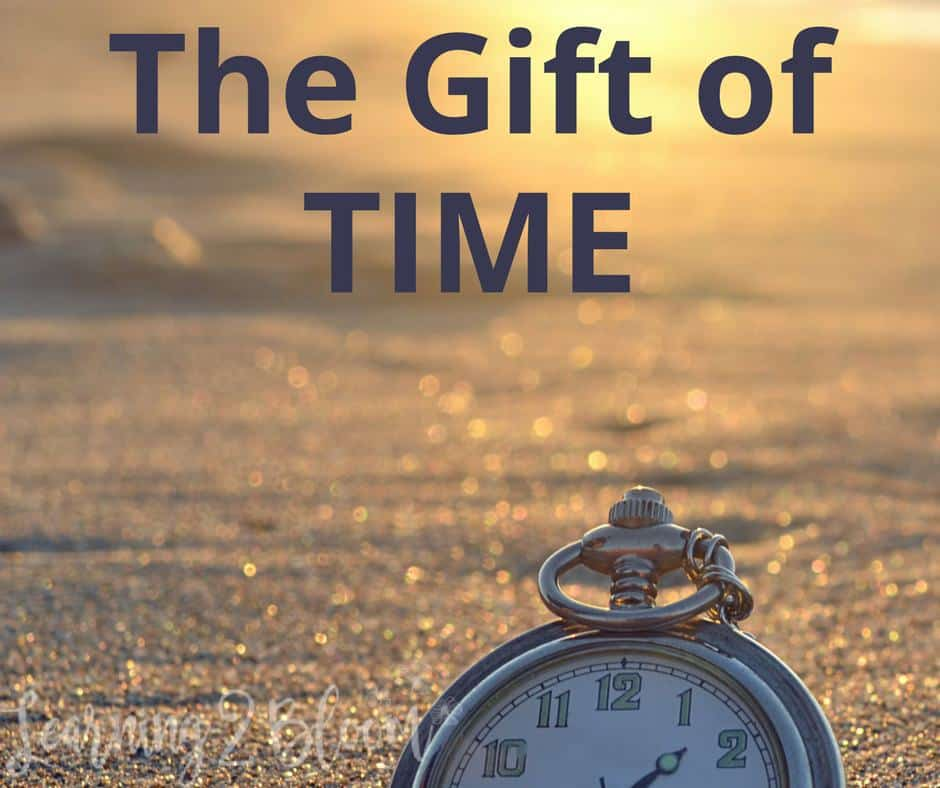 Give The Gift Of Time Learning2bloom