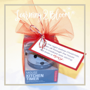1. Twas the night before Christmas when all through the house, not a creature was stirring not even a mouse tag tied to mouse kitchen timer.